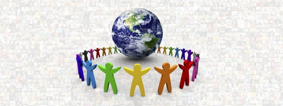 global collaboration, one people, one vision, one world, One Community, we are one, oneness, working together, humanity's vision, group think, helping humanity, helping each other, our planet, it all belongs to us
